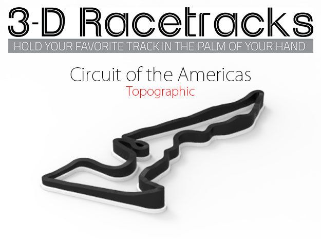 Circuit of the Americas | Topographic Large