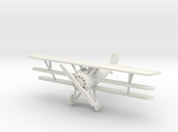 Pfalz Dr.I 1:144th Scale in White Natural Versatile Plastic