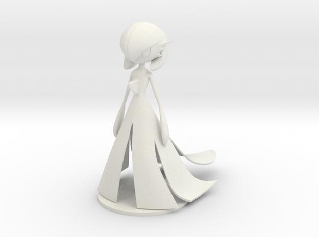 Gardevoir in White Natural Versatile Plastic