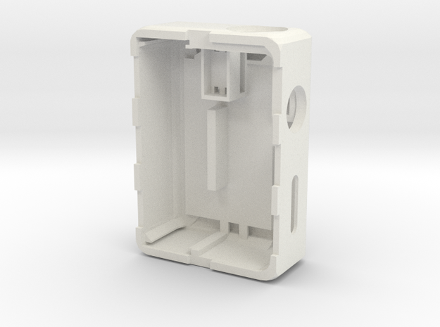 MARK V 2 (internal tactile-ball-switch) in White Natural Versatile Plastic