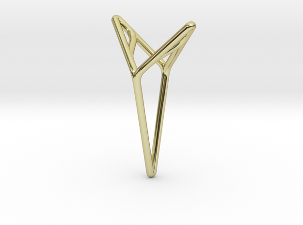 YOUNIVERSAL M, Pendant in 18k Gold Plated