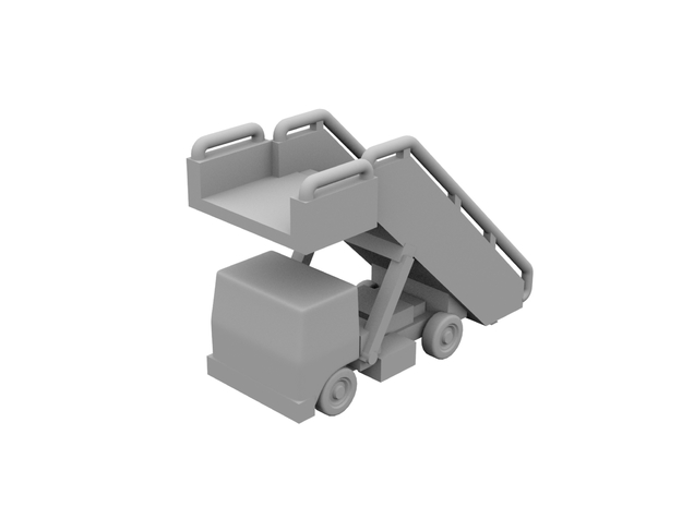 1:400 - Airstair_v3 [x5] in Smooth Fine Detail Plastic