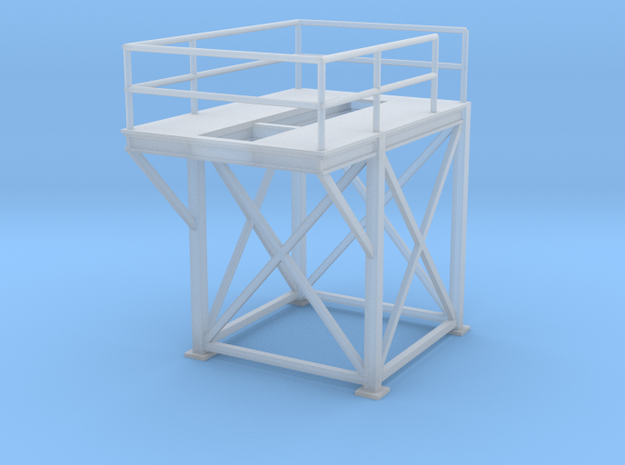 'HO Scale' - 8'x8'x10' Tower Top in Smooth Fine Detail Plastic