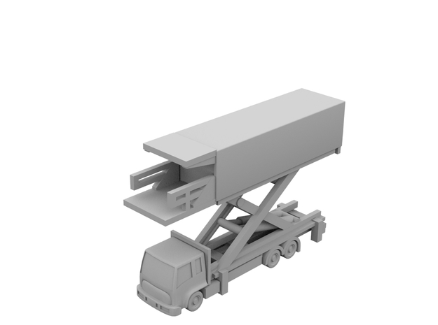 1:400 - Catering_v2 [x5] in Smooth Fine Detail Plastic