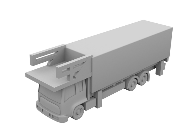 1:400 - Catering_v1 [x5] in Smooth Fine Detail Plastic