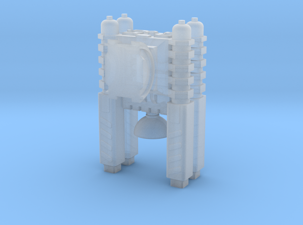 Quad Cannon Upscaled 2X in Smooth Fine Detail Plastic