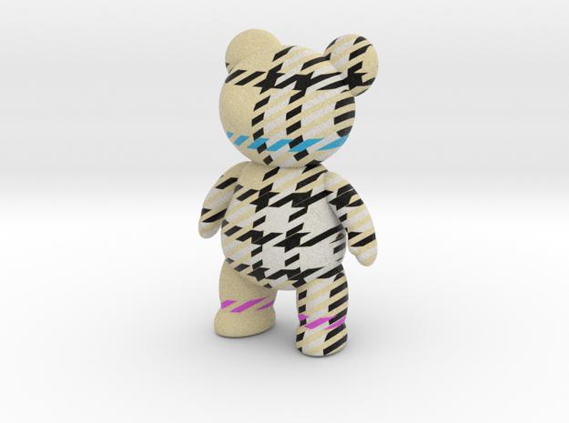 Teddy Bear - Check in Full Color Sandstone