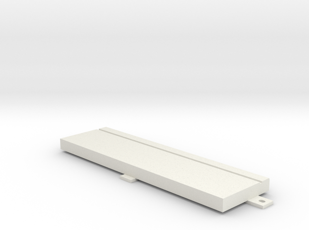 "Floppy Cover 5,25"" compatible to Amiga 4000 in White Natural Versatile Plastic"