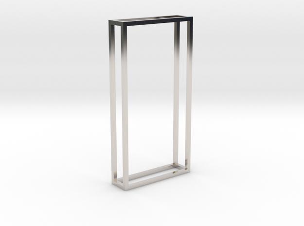 The edge of the Monolith in Platinum