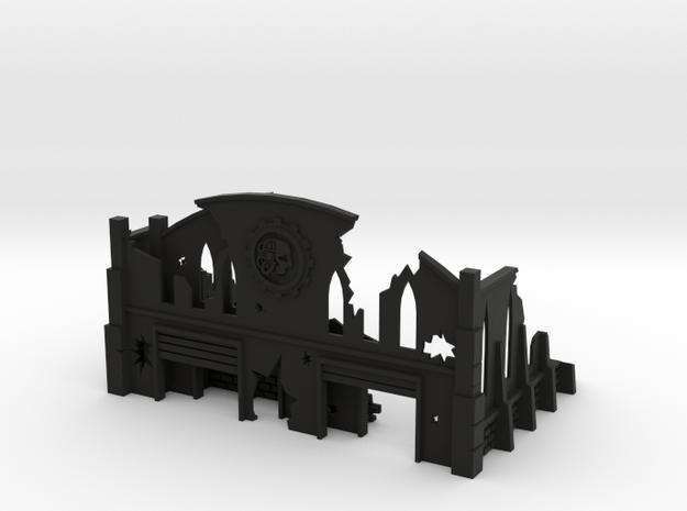 6mm Factory Ruins 3d printed
