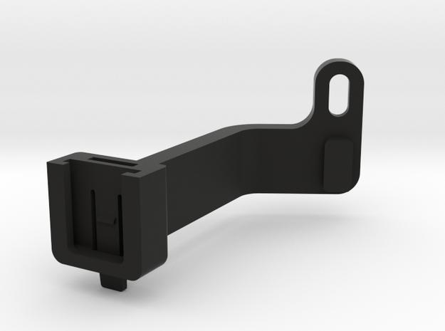 CatEye Omni Taillight Mount in Black Natural Versatile Plastic