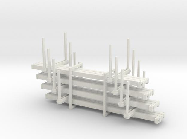 HOn3 Logging Car C x4 3d printed