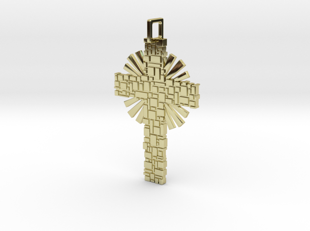Pathway To Christ in 18k Gold Plated