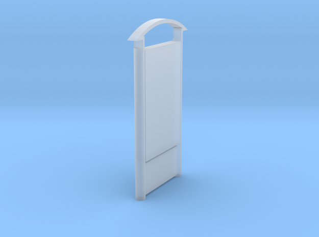 DSB Reklame panel 1:160 in Smooth Fine Detail Plastic