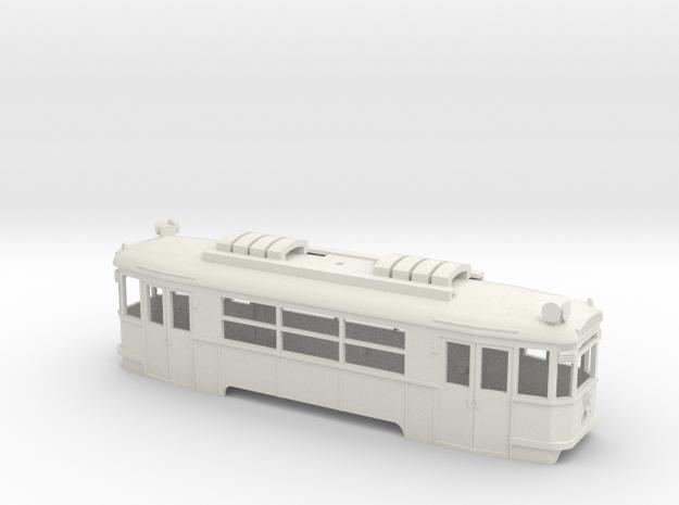 B Wiener Linien Triebwagen Gehäuse in White Strong & Flexible