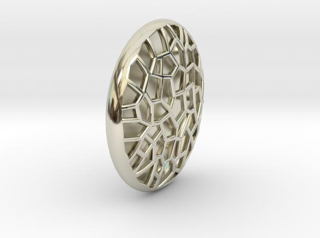 Bio Cell Pendant #2 3d printed
