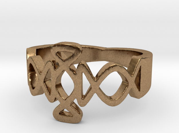 Igraine Ring Size 6 3d printed