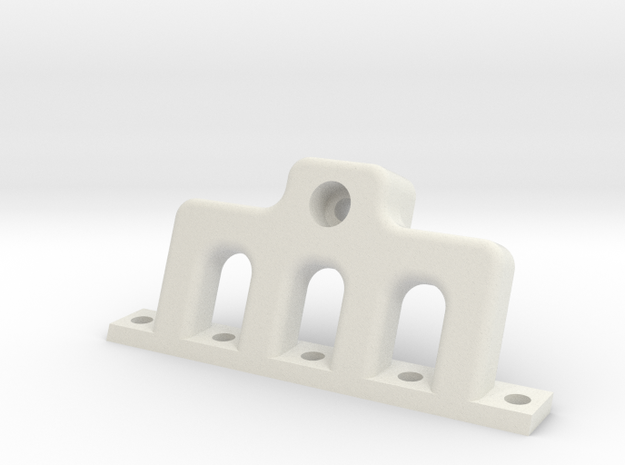 HD Intake or Exhaust Manifold (buy 2) in White Natural Versatile Plastic