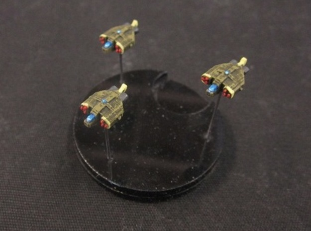 10 Human Alliance bombers 3d printed painted and based
