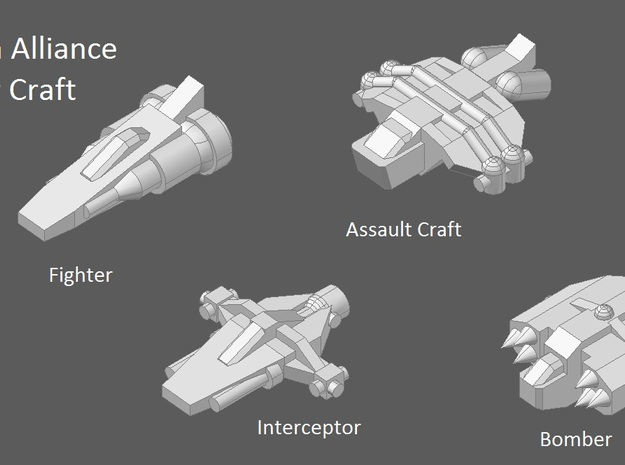 10 Human Alliance assaulters 3d printed faction preview