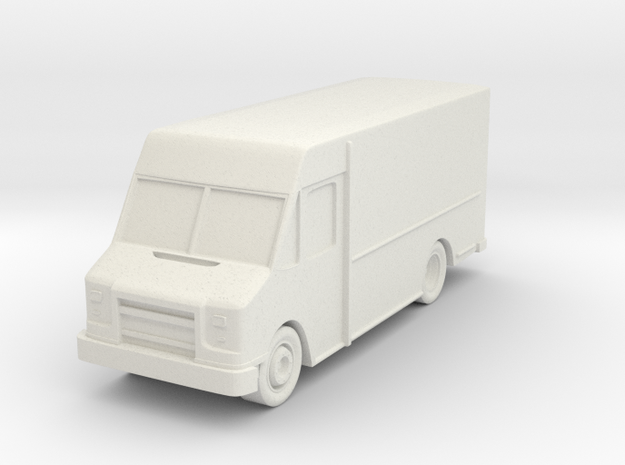 Delivery Truck At N Scale