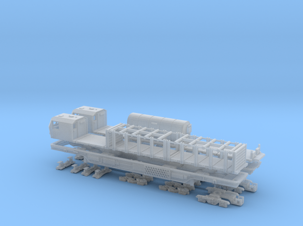 Timber MPV Bundle for N Gauge in Smooth Fine Detail Plastic