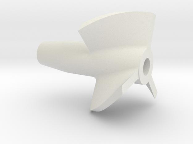 Propeller 3BL P35 in White Natural Versatile Plastic