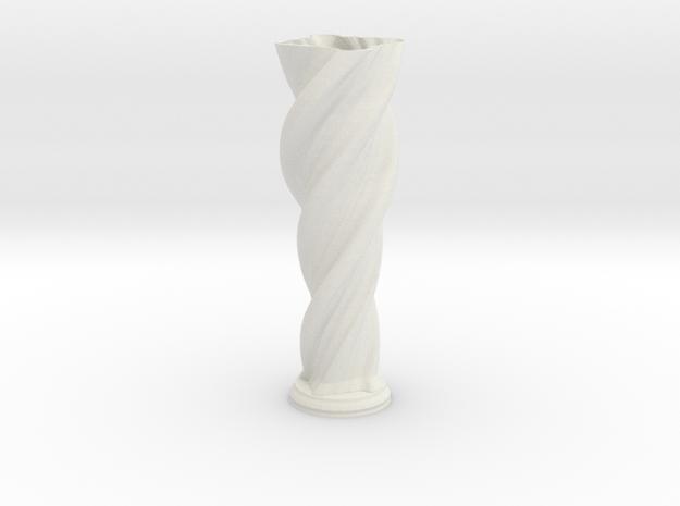 """Vase 'Anuya' - 50cm / 19.5"""" in White Strong & Flexible"""