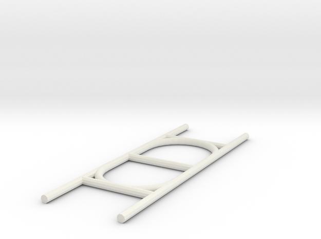 Paracord ladder in White Natural Versatile Plastic