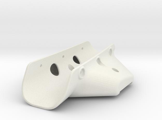 RVJET Landing Gear TRIKE (main) in White Strong & Flexible
