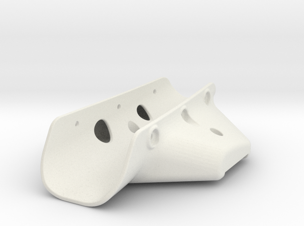 RVJET Landing Gear TRIKE (main) in White Natural Versatile Plastic