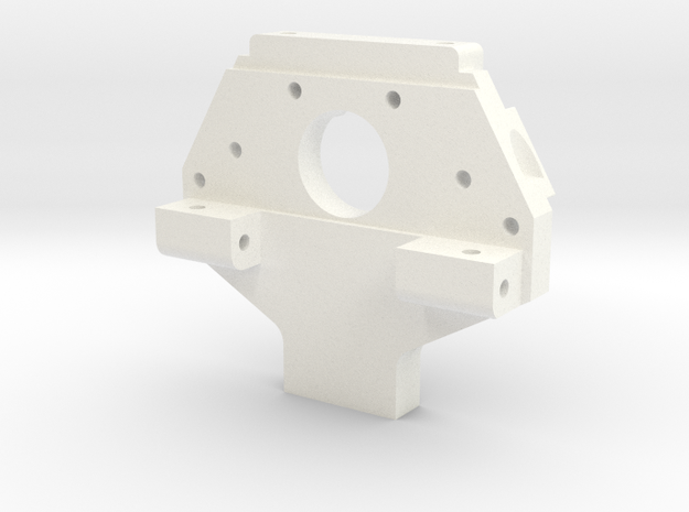 Reborn91, BULKHEAD, REAR in White Processed Versatile Plastic