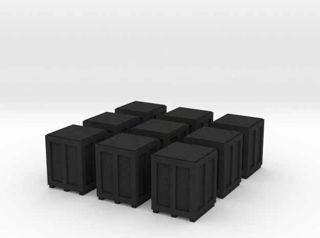 High Crates for 6mm, 1/300 or 1/285 3d printed
