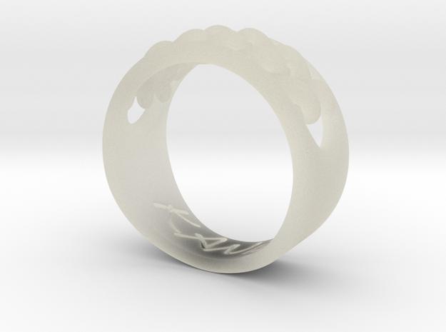 EHNisja 08, Ring   Braided 3d printed