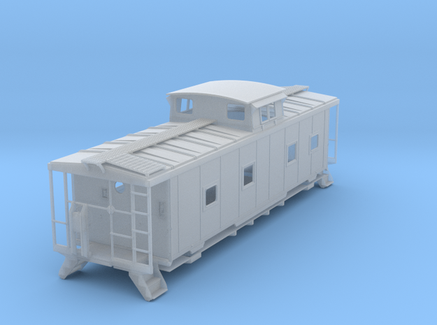 ACL M5 Caboose, split window - HO