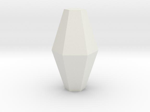 Corundum 3 in White Natural Versatile Plastic
