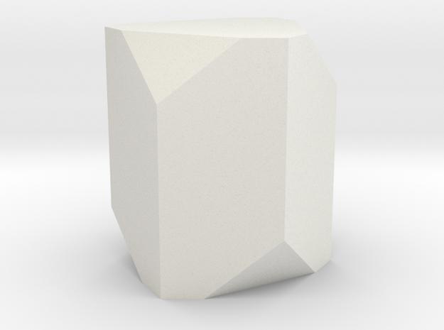 Corundum 1 in White Natural Versatile Plastic