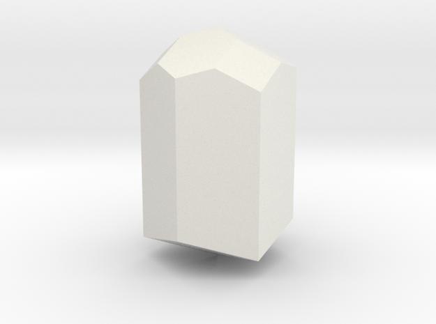 Turmaline 1 in White Natural Versatile Plastic