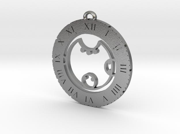 Kyra - Pendant in Natural Silver
