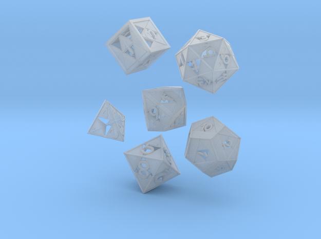 Triforce dice 6 piece set