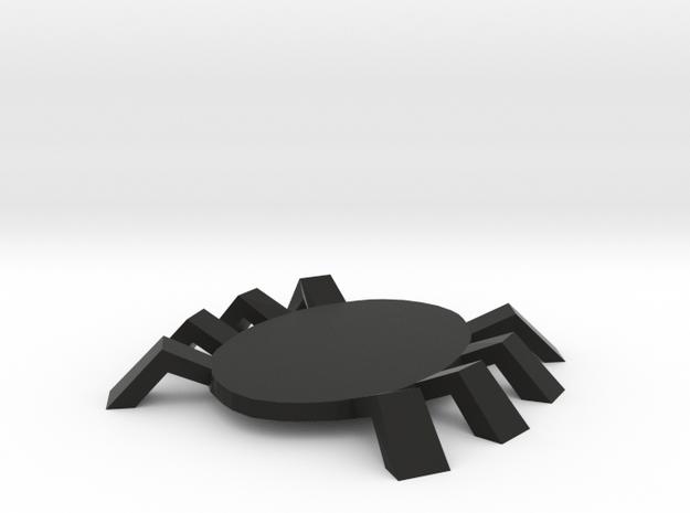 Spidey token in Black Natural Versatile Plastic