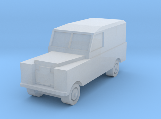 1:450 Land Rover Series 2a LWB, for T gauge in Smooth Fine Detail Plastic