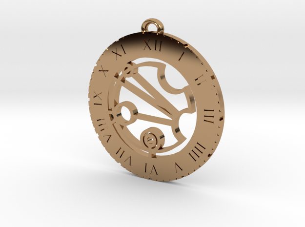 Justina - Pendant in Polished Brass