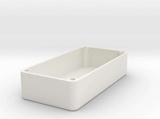 1590G Squared Design (No Lean) in White Natural Versatile Plastic
