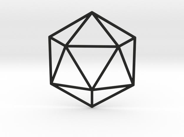 Icosahedron Wireframe
