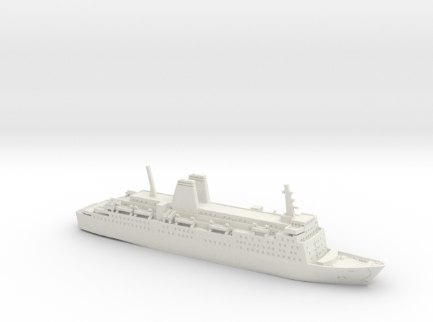 MS Dana Gloria (1:1200) 3d printed