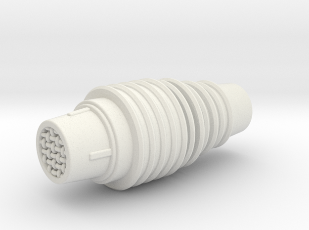 C1 Comm Link in White Natural Versatile Plastic