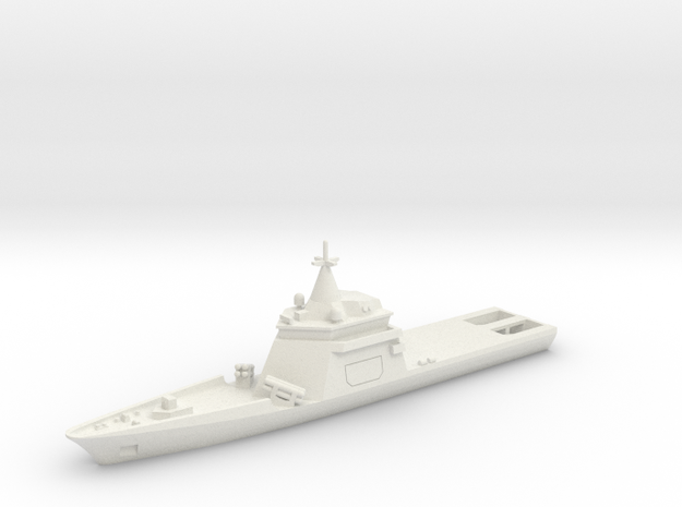 07SF01 1:700 Gowind OPV w/Exocet in White Natural Versatile Plastic