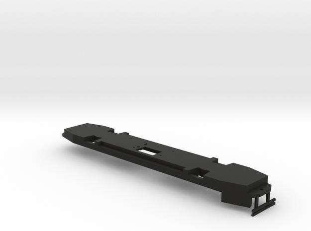 HO Scale B&QT 6000 Peter Witt FRAME in Black Natural Versatile Plastic