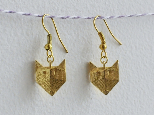 Foxy Geometric Earrings